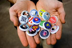 Bottlemark custom bottle caps and labels for home brewers for Custom beer labels and caps