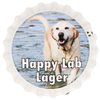Sample Happy Lab Lager cap photo
